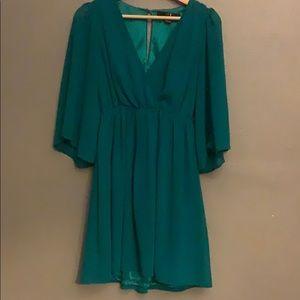 Cute green dress